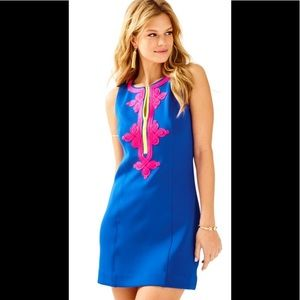 Lilly Pulitzer Mila Blue Shift Dress